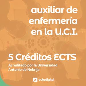 Curso Online Auxiliar de enfermería en la UCI